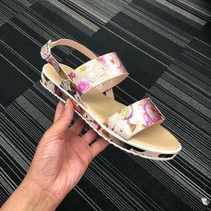Floral Flat Comfy Summer Sandals